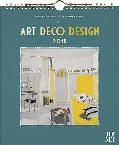 Art Deco Design 2018 Calendar