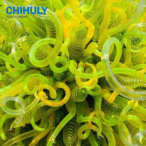 Chihuly 2018 Calendar