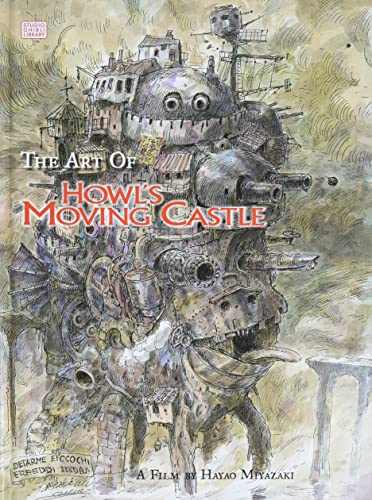 ART OF HOWLS MOVING CASTLE HC.