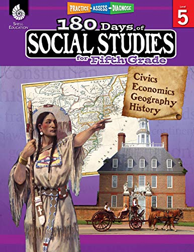 180 Days of Social Studies for Fifth Grade: Practice-Assess-Diagnose
