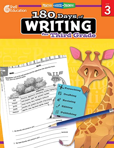 180 Days of Writing for Third Grade, Level 3: Practice - Assess - Diagnose