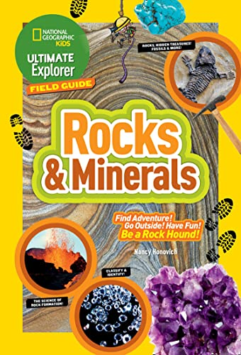 Ultimate Explorer Field Guide: Rocks and Minerals par  Nancy Honovich