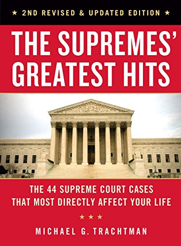 The Supremes' Greatest Hits: The 44 Supreme Court Cases That Most Directly Affect Your Life
