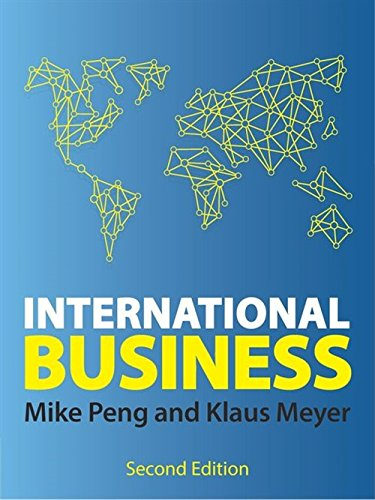 International Business par Klaus Meyer, Mike W. Peng