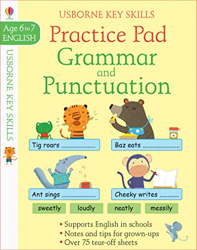 Grammar and Punctuation Practice Pad - Key Skills Age 6 to 7