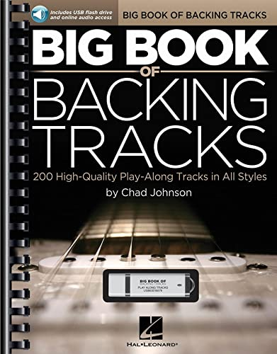 Big Book of Backing Tracks: 200 High-Quality Play-Along Tracks in All Styles + clé USB.
