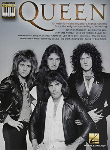 Queen: Note-for-Note Keyboard Transcriptions par Hal Leonard Publishing Corporation