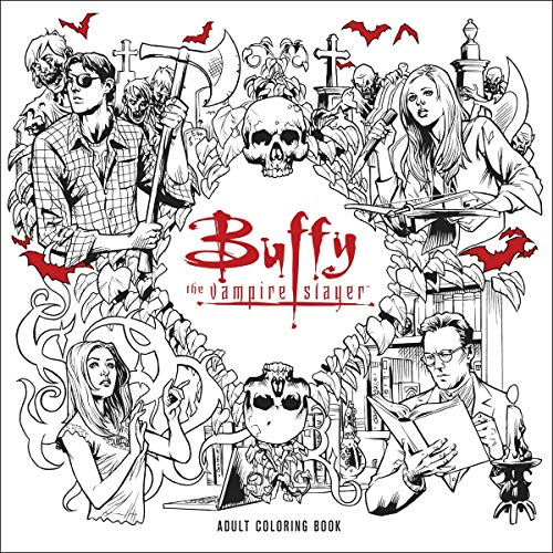 Buffy the Vampire Slayer Adult Coloring Book par Joss Whedon