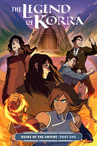 The Legend of Korra: Ruins of the Empire Part One par Michael Dante DiMartino, Bryan Konietzko