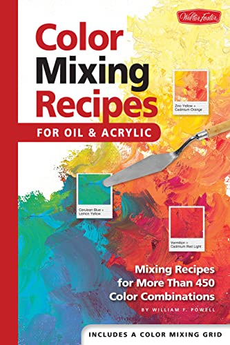 Color Mixing Recipes par  William  F Powell