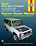 ISUZU Trooper automotive repair manual