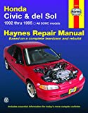 HONDA Civic automotive repair manual