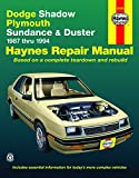 DODGE Shadow automotive repair manual
