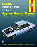 SUBARU 1600 automotive repair manual
