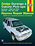 DODGE Durango automotive repair manual