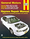 PONTIAC Grand-Am automotive repair manual