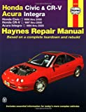 Revue Technique ACURA Integra