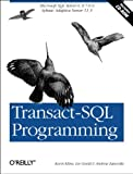 couverture du livre Transact SQL Programming