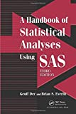 couverture du livre A Handbook of Statistical Analyses using SAS, Third Edition