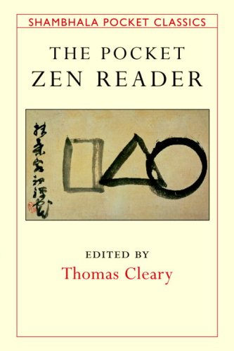 The Pocket Zen Reader by Thomas Cleary