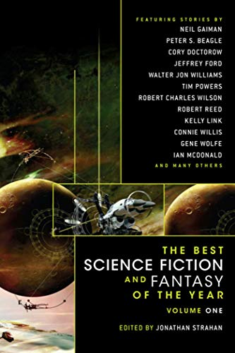 Year's Best SF and Fantasy cover