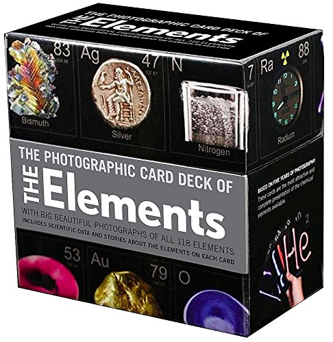 Photographic Card Deck of The Elements: With Big Beautiful Photographs of All 118 Elements in the Periodic Table