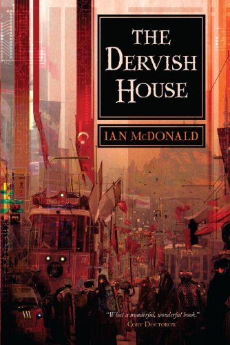 The Dervish House US cover