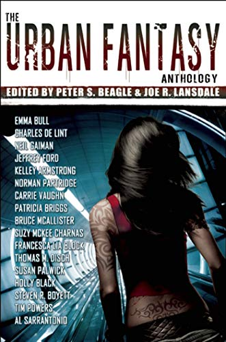 The Urban Fantasy anthology cover
