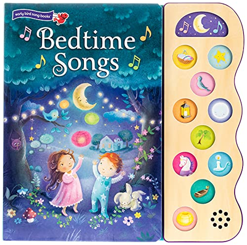 Bedtime Songs 11 Button Song Book