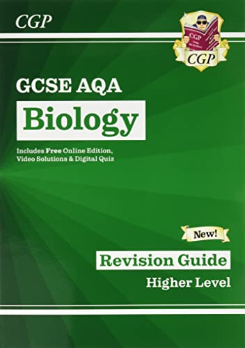 New Grade 9-1 GCSE Biology: AQA Revision Guide with Online Edition
