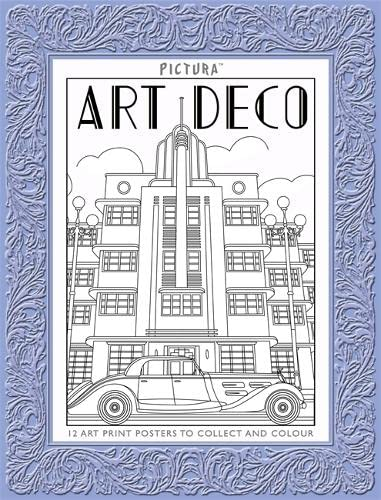 Pictura Prints: Art Deco Patterns: Posters par Colin Elgie