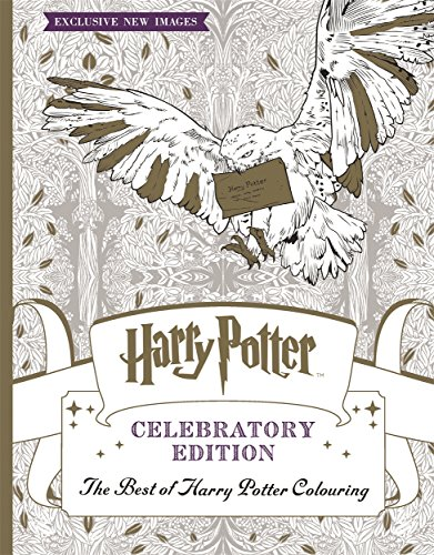 Harry Potter Colouring Book Celebratory Edition: The Best of Harry Potter colouring