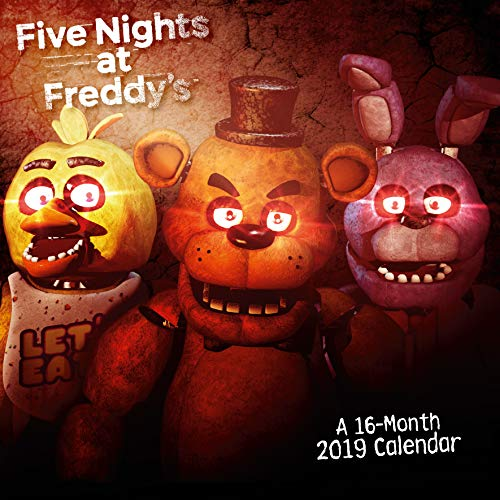 Five Nights at Freddys Official 2019 Calendar - Square Wall Calendar Format par Five Nights at Freddys