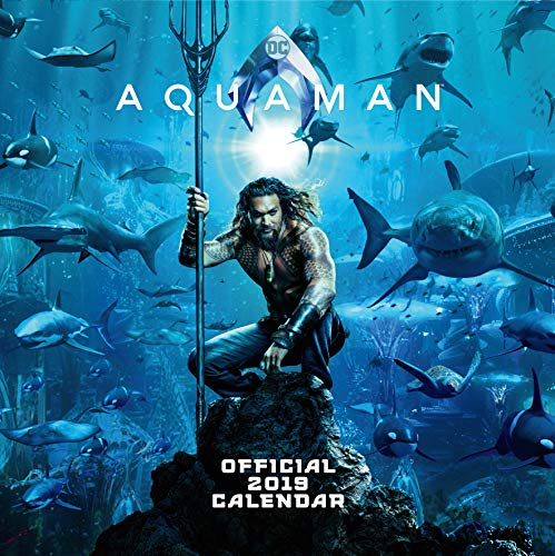 Justice League - Aquaman Official 2019 Calendar - Square Wall Calendar Format par  Justice League - Aquaman