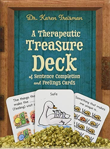 A Therapeutic Treasure Deck of Sentence Completion and Feelings Cards par Karen Treisman