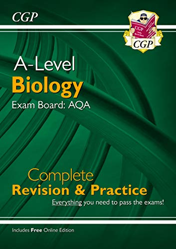 New A-Level Biology for 2018: AQA Year 1 & 2 Complete Revision & Practice with Online Edition