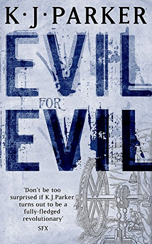 Evil for Evil, UK cover
