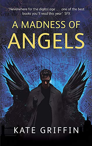 A Madness of Angels, UK cover