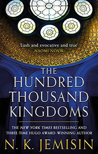 The Hundred Thousand Kingdoms UK cover