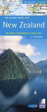 Rough Guides, New Zealand: The Rough Guide Map (Rough Guide Country & Regional Maps S.)