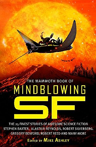 The Mammoth Book of Mindblowing SF cover