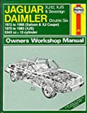 JAGUAR XJ12 automotive repair manual