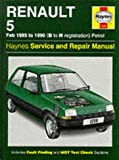 Renault 5 1985-96 Service and Repair Manual