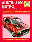 Documentation MG Metro