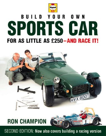 Ron Champion S Book Build Your Own Sports Car