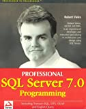 couverture du livre SQL Server 7.0 Programming