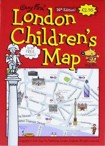 Guy Fox London Children's Map