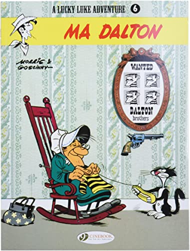 Lucky Luke - tome 6 Ma Dalton - version anglaise (06)