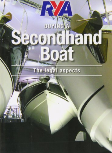 RYA Buying a Secondhand Boat PDF Books