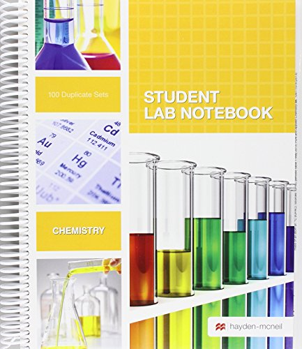 Student Lab Notebook Spiral Bound: 100 Carbonless Duplicate Sets